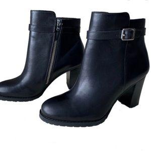 Lauren Leather Booties